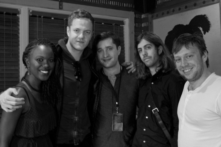 Backstage with Imagine Dragons