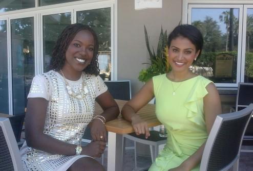 Riesa and Miss. America 2014