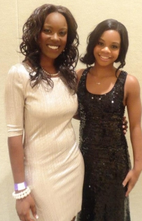 Charity fashion show with Olympic Gold Gymnast, Gabby Douglas