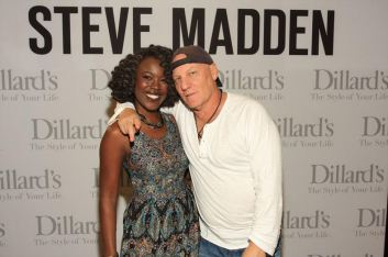 Riesa and shoe designer, Steve Madden