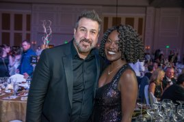 Meeting Joey Fatone of Nsync